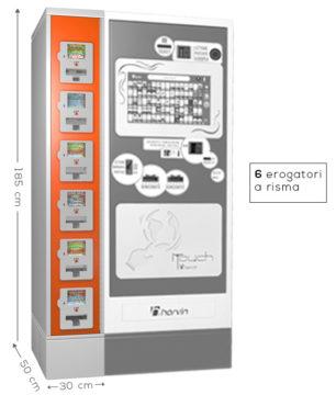 distributore automatico gratta e vinci harvin m6