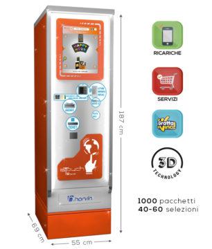 distributore automatico sigarette touch screen harvin islux 40-60