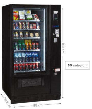 distributore automatico di bevande e snack