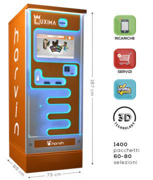 distributore automatico di sigarette touch screen harvin luxima