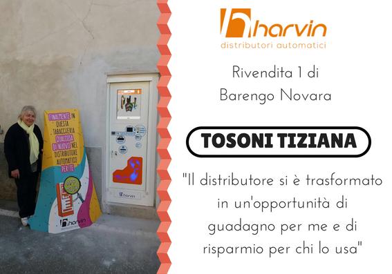 distributore automatico sigarette touch screen harvin ISLUX tosoni