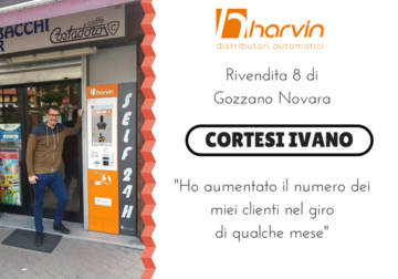 distributore automatico tabacchi touch screen harvin SPC cortesi