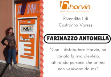 distributore automatico di sigarette touch screen harvin LUXIMA farinazzo