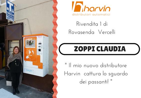 distributore automatico di tabacchi touch screen harvin BABY LUX vercelli