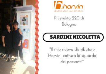 distributore automatico sigarette touch screen harvin ISLUX bologna
