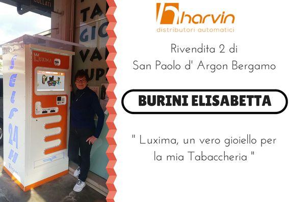 distributore automatico di sigarette touch screen harvin LUXIMA bergamo