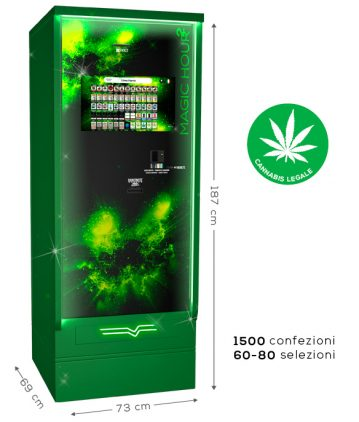 distributore automatico cannabis legale