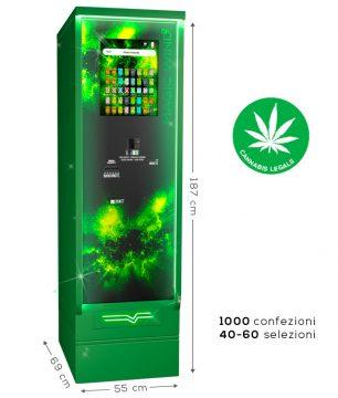 distributore automatico di cannabis legale