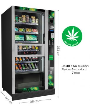distributore automatico di cannabis light