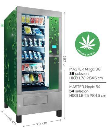 distributore automatico di cannabis light