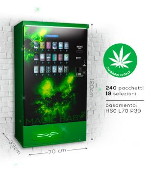 distributore automatico cannabis light