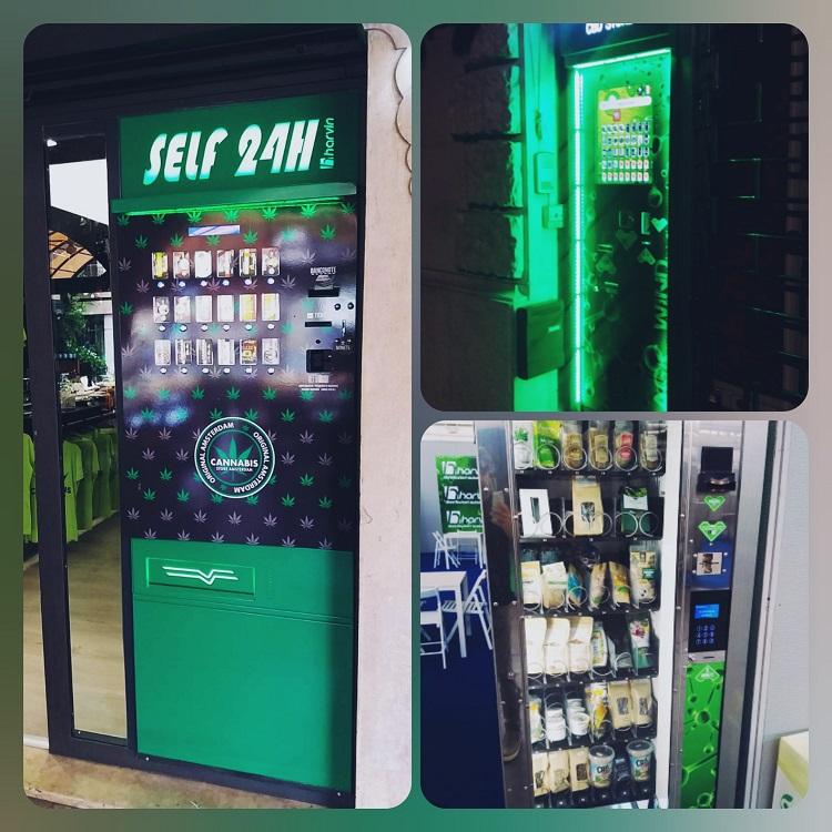distributori automatici canapa