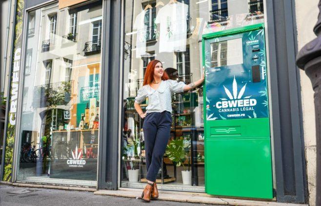 Distributore automatico di canapa